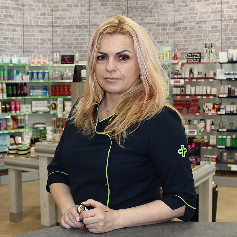 Aneta Solarczyk Shop Manager
